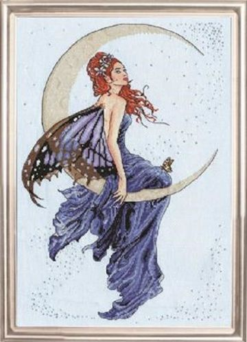 BLUE MOON Cross Stitch Kit from Design Works -2909
